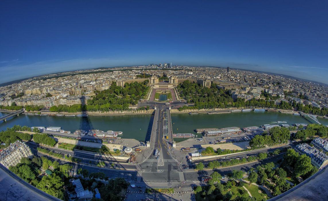 Paris France River Seine wallpaper