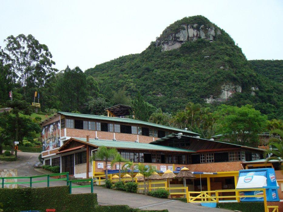 mountains villages wallpaper