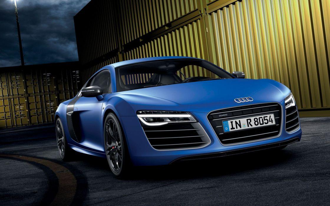 cars supercars Audi R8 sports cars headlights blue cars Audi R8 V10 Led Light Audi R8 V10 Plusx wallpaper