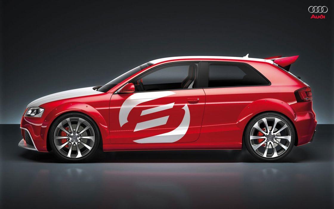 cars Audi concept art Audi A3 TDI Clubsport Quattro wallpaper