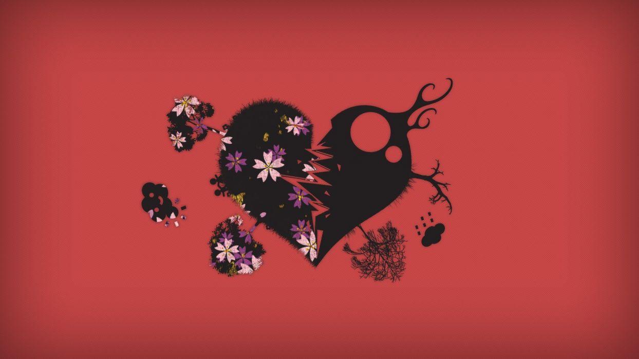 love minimalistic stars blood quotes smiling digital art wisdom wallpaper