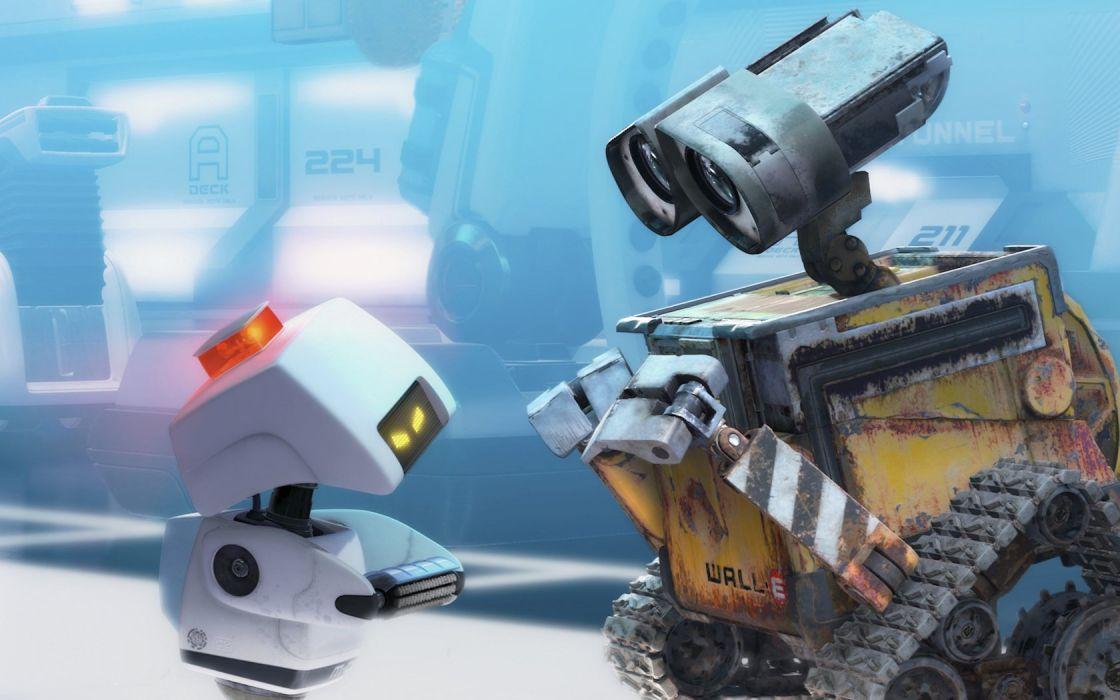 robots Wall-E wallpaper