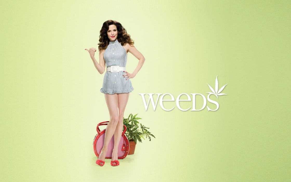 Mary-Louise Parker Weeds (TV Series) wallpaper
