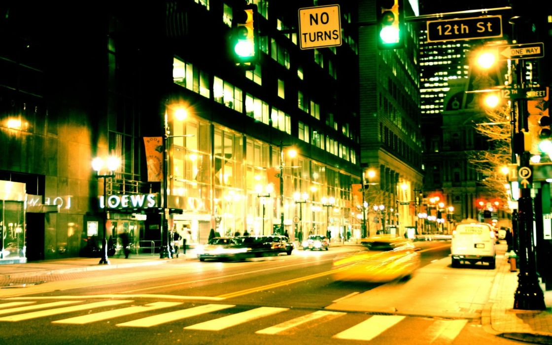 cityscapes streets buildings wallpaper