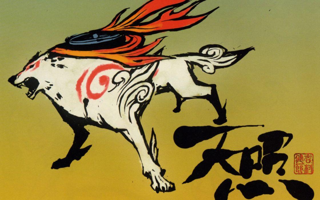 Okami Amaterasu wallpaper