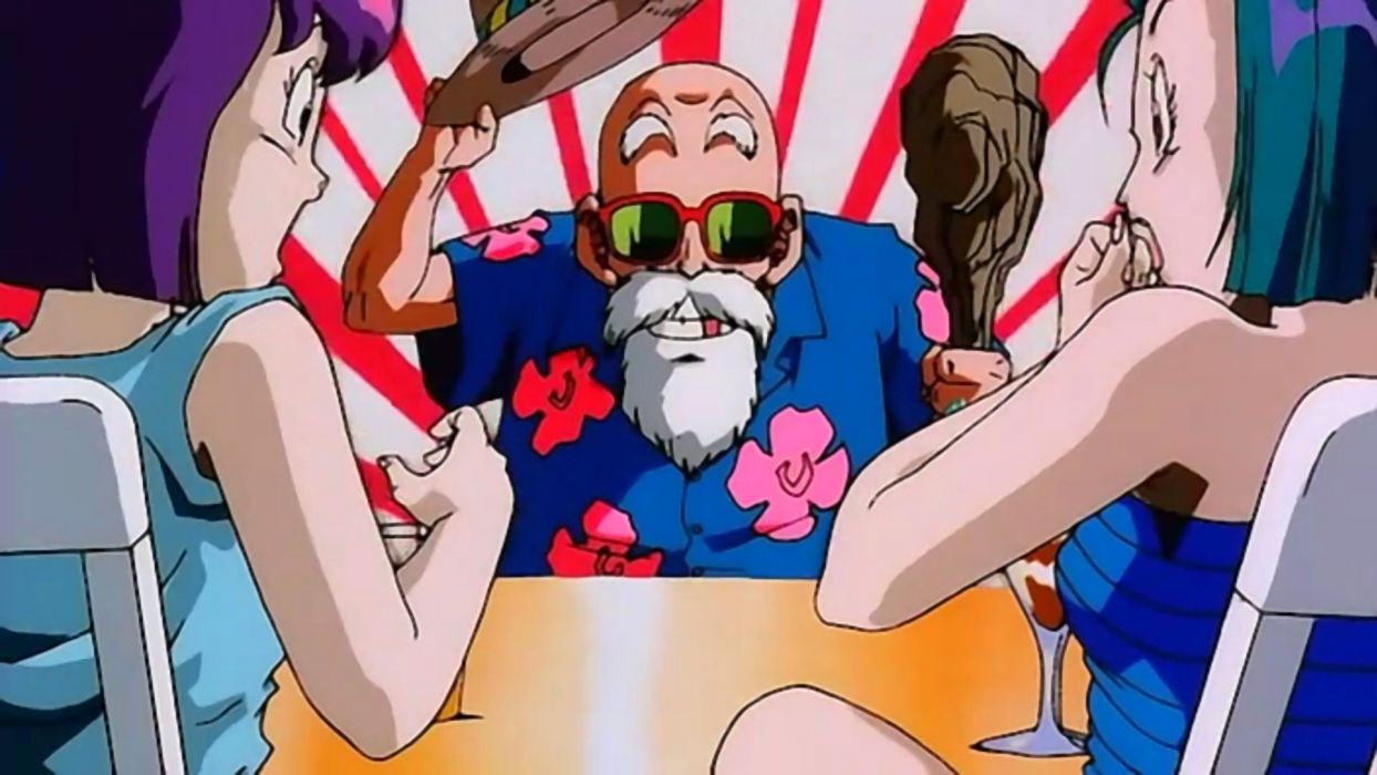 Master Roshi Dragon Ball Z wallpaper