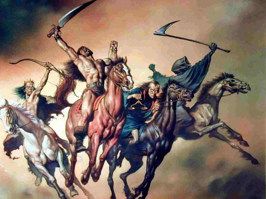 four horsemen wallpaper