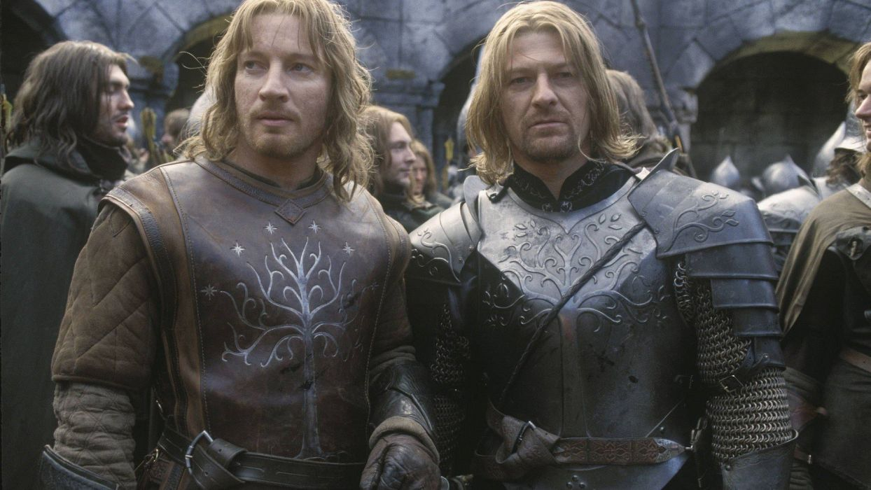 The Lord Of The Rings Actors Sean Bean Gondor Faramir Boromir