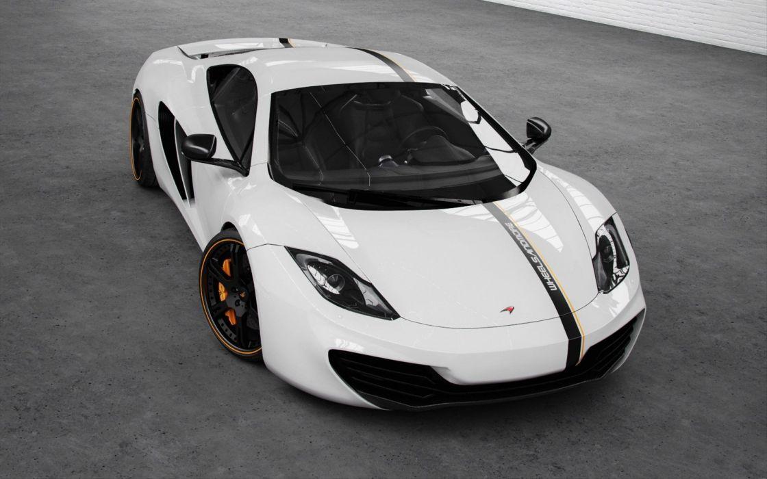 cars performance McLaren MP4-12C wallpaper