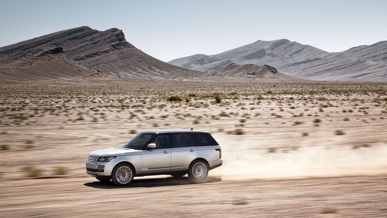 cars Land Rover Range Rover Land Rover Range Rover 2013 wallpaper