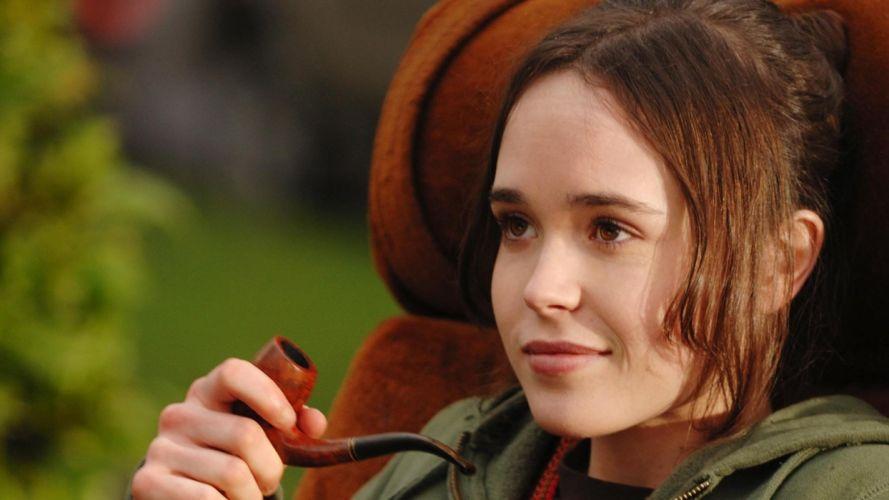 women Ellen Page actress wallpaper