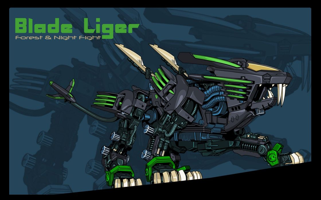 Zoids liger wallpaper