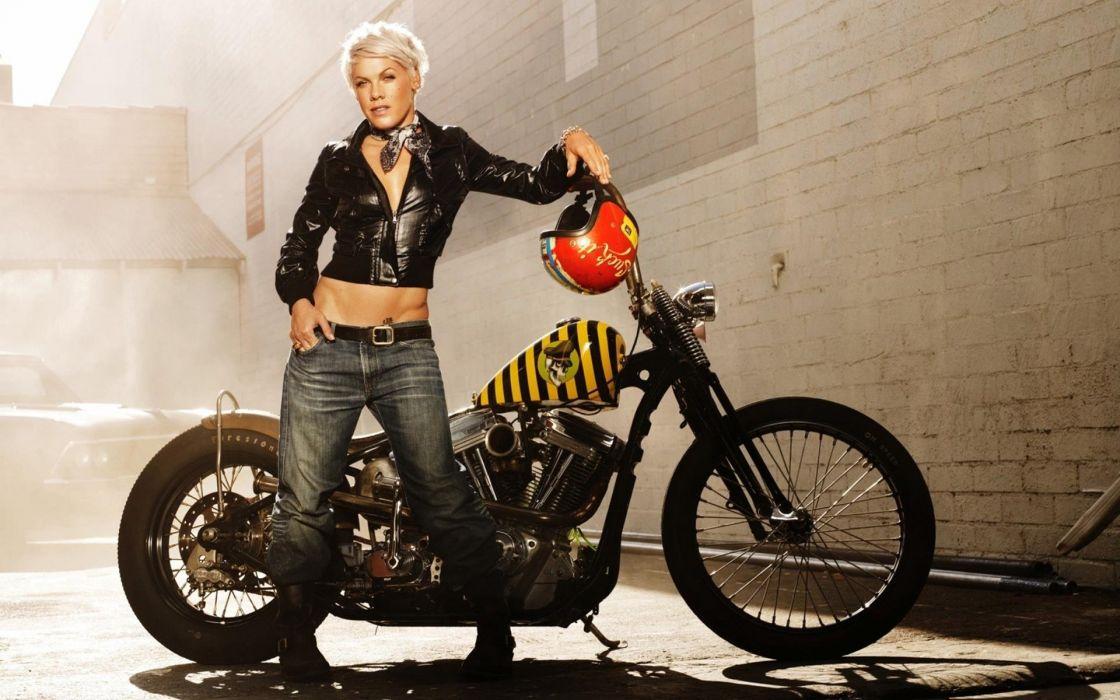 PINK alecia beth moore pop rock r-b singer babe blonde sexy (34) wallpaper
