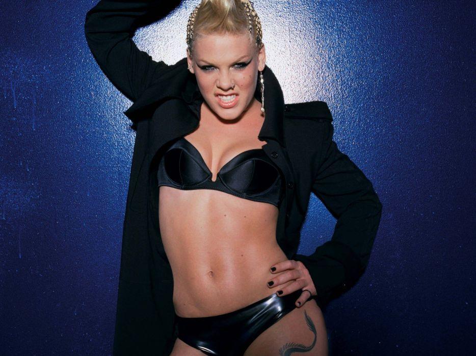 PINK alecia beth moore pop rock r-b singer babe blonde sexy (37) wallpaper