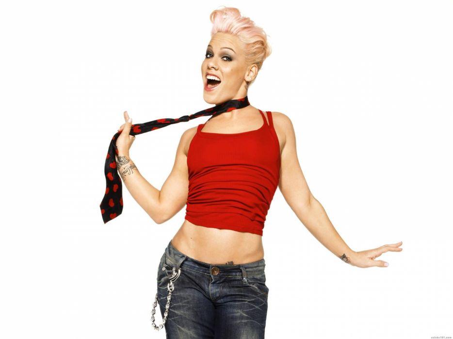 PINK alecia beth moore pop rock r-b singer babe blonde sexy (50) wallpaper