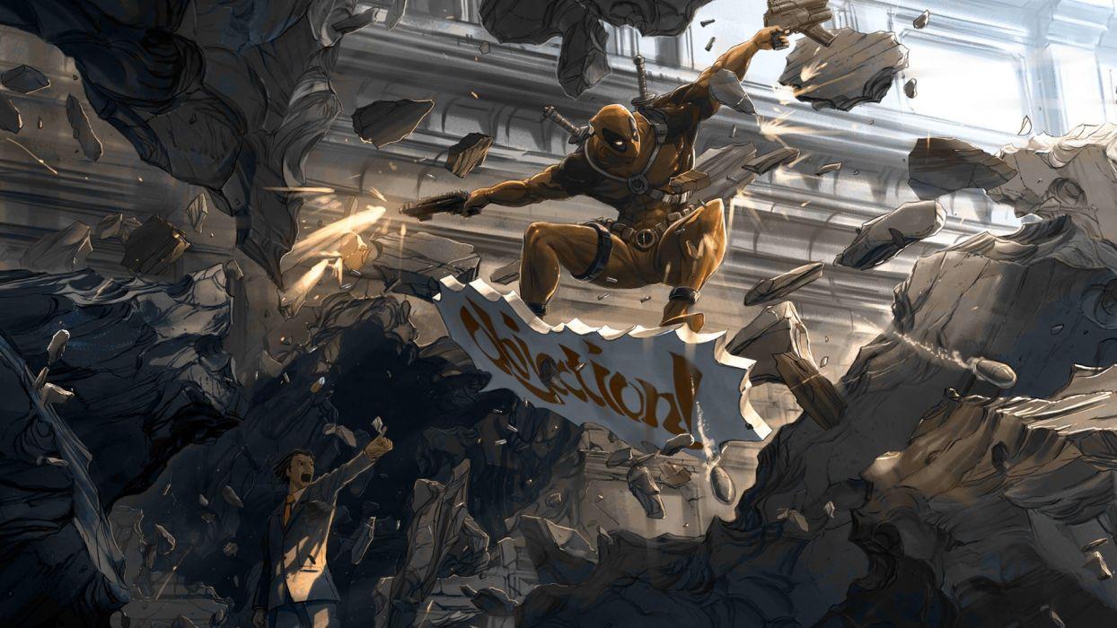 Deadpool Marvel wallpaper