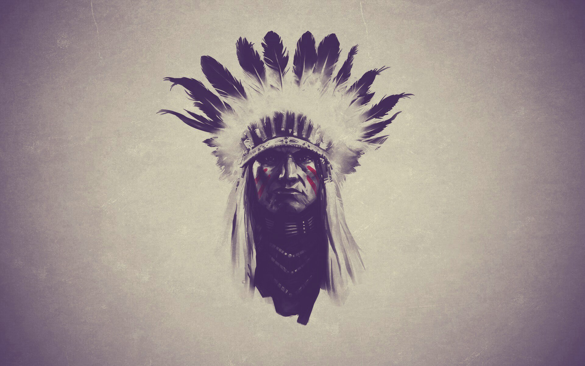 indian feathers native american western wallpaper | 1920x1200