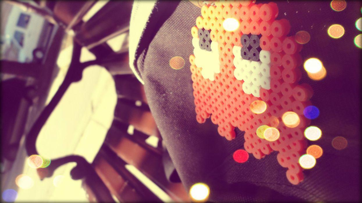 Pacman Bokeh wallpaper