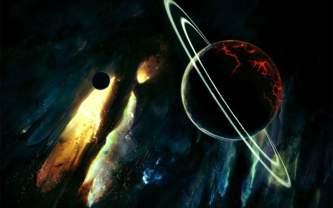 Planet Stars wallpaper