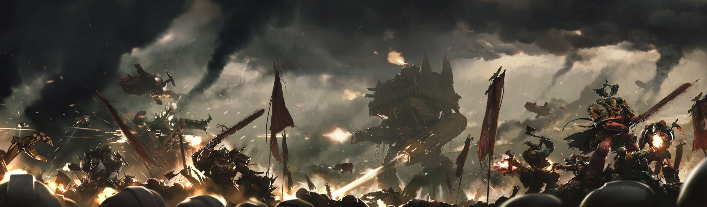 Warhammer 40k Space Marines wallpaper