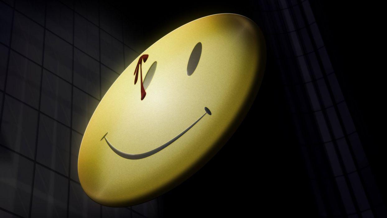 Watchmen Smiley Face Blood wallpaper