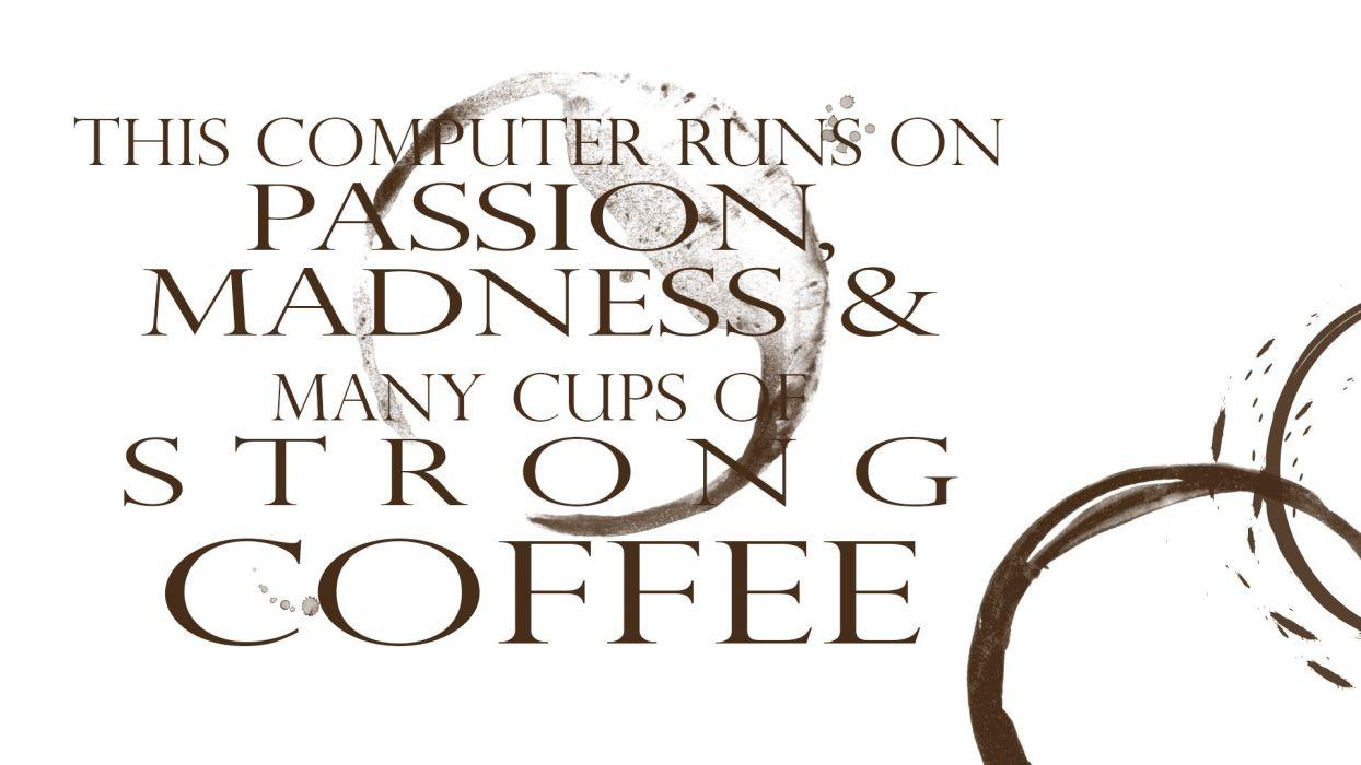 Coffee Computer wallpaper