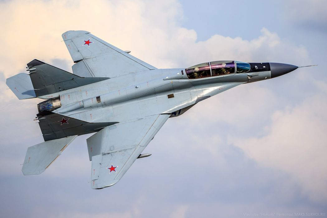 aircraft MiG-35 a multi-purpose fulcrum-f jet military wallpaper