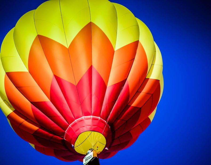 sky flight balloon wallpaper
