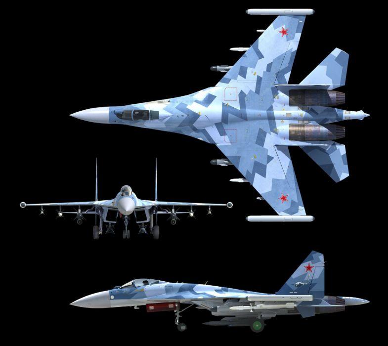 Sukhoi Su-35 jet fighter russia russian military su35 (1) wallpaper