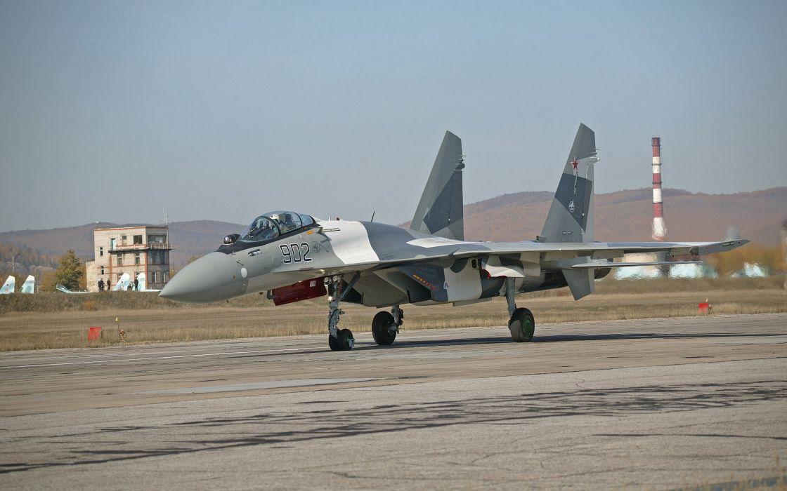 Sukhoi Su-35 jet fighter russia russian military su35 y wallpaper