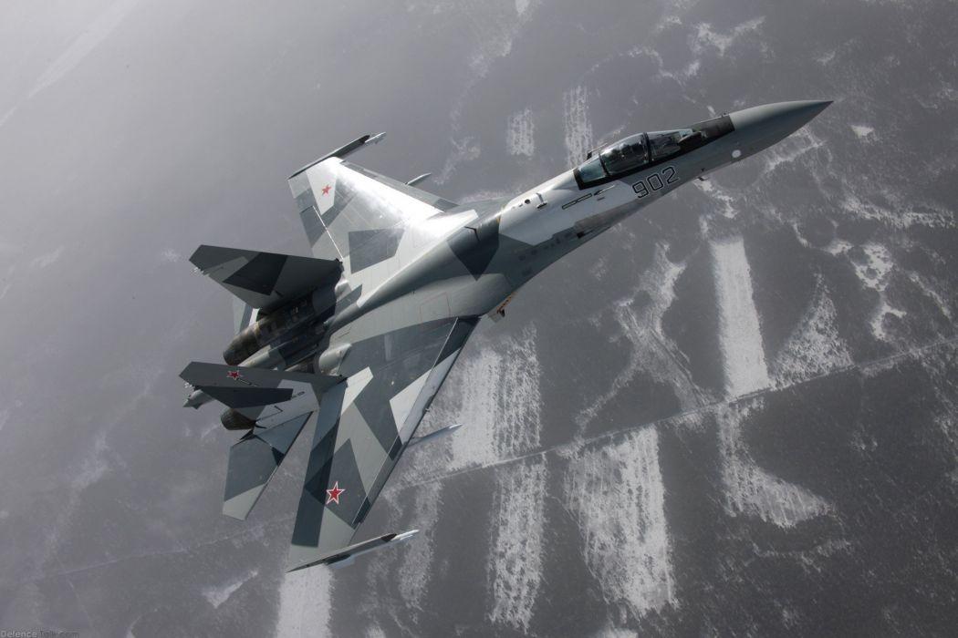 Sukhoi Su-35 jet fighter russia russian military su35 (6)_JPG wallpaper