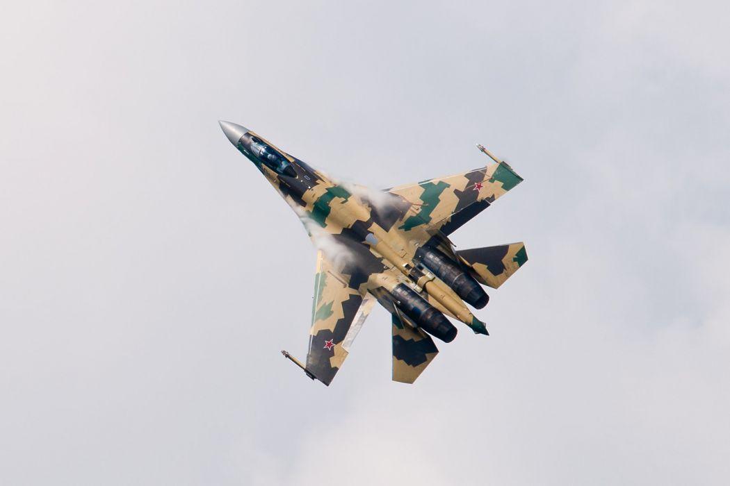 Sukhoi Su-35 jet fighter russia russian military su35 (11) wallpaper
