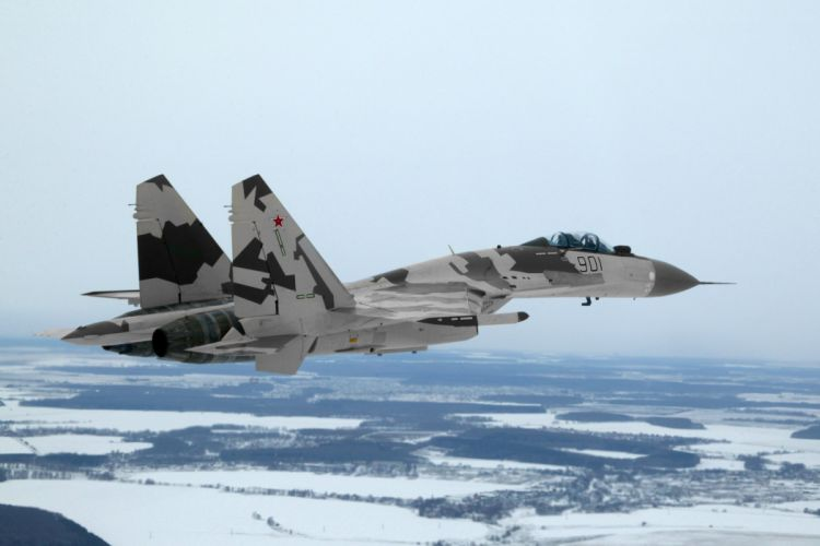 Sukhoi Su-35 jet fighter russia russian military su35 (10) wallpaper