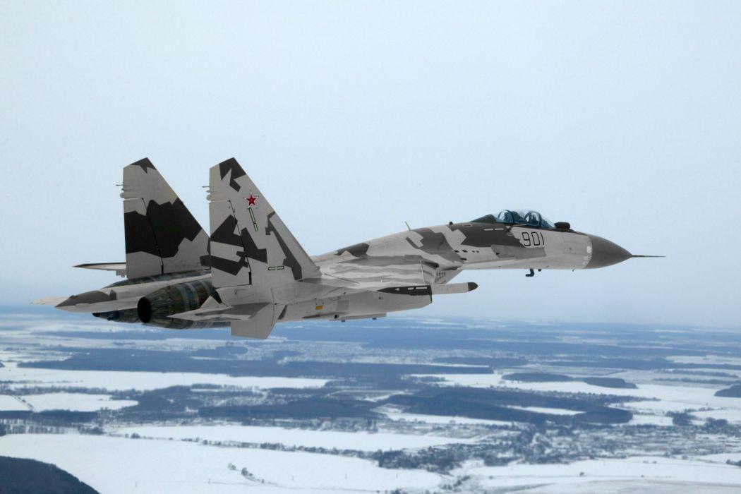 Sukhoi Su-35 jet fighter russia russian military su35 (10) wallpaper