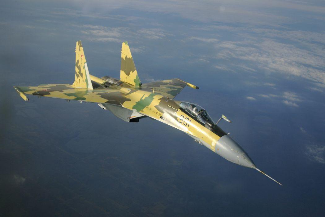 Sukhoi Su-35 jet fighter russia russian military su35 (20) wallpaper