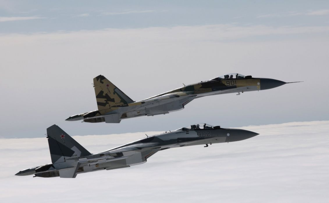 Sukhoi Su-35 jet fighter russia russian military su35 (25)_JPG wallpaper