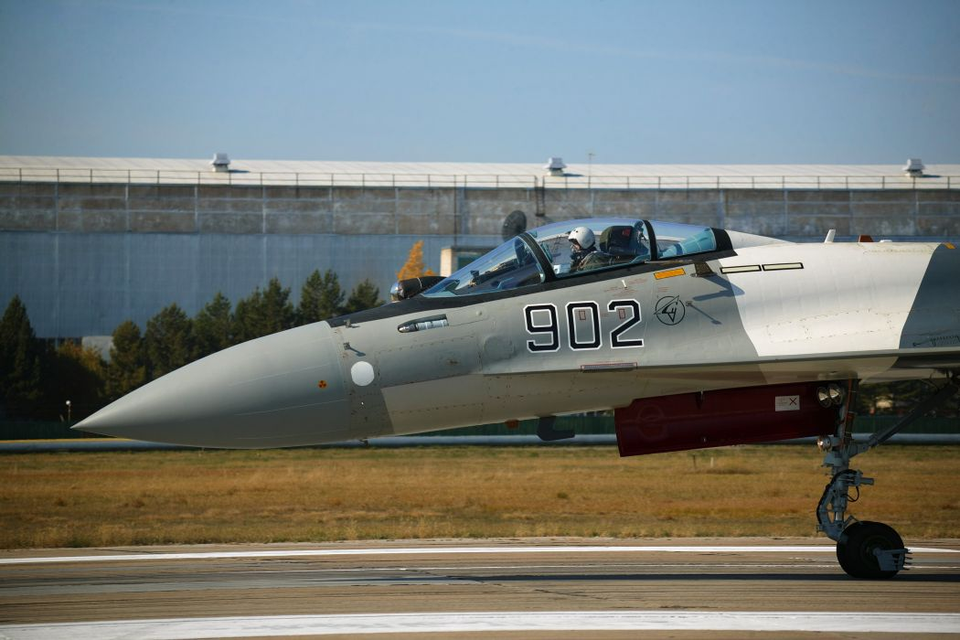 Sukhoi Su-35 jet fighter russia russian military su35 (35) wallpaper