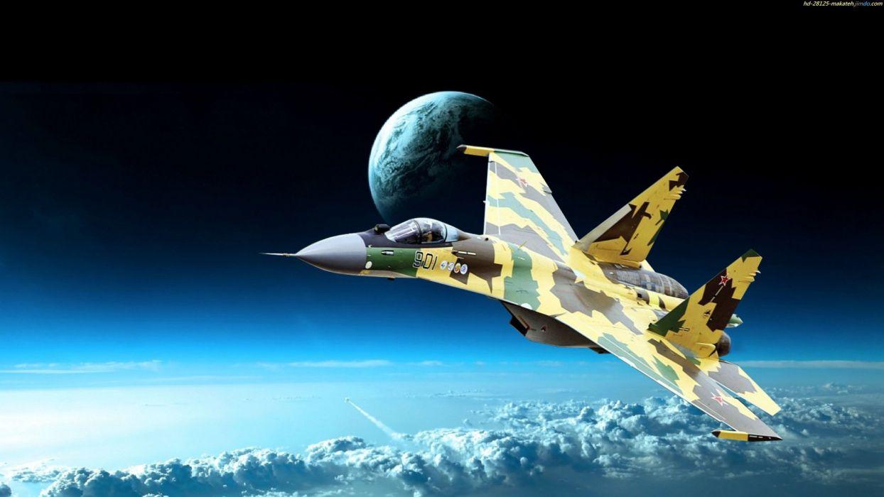 Sukhoi Su-35 jet fighter russia russian military su35 (41) wallpaper