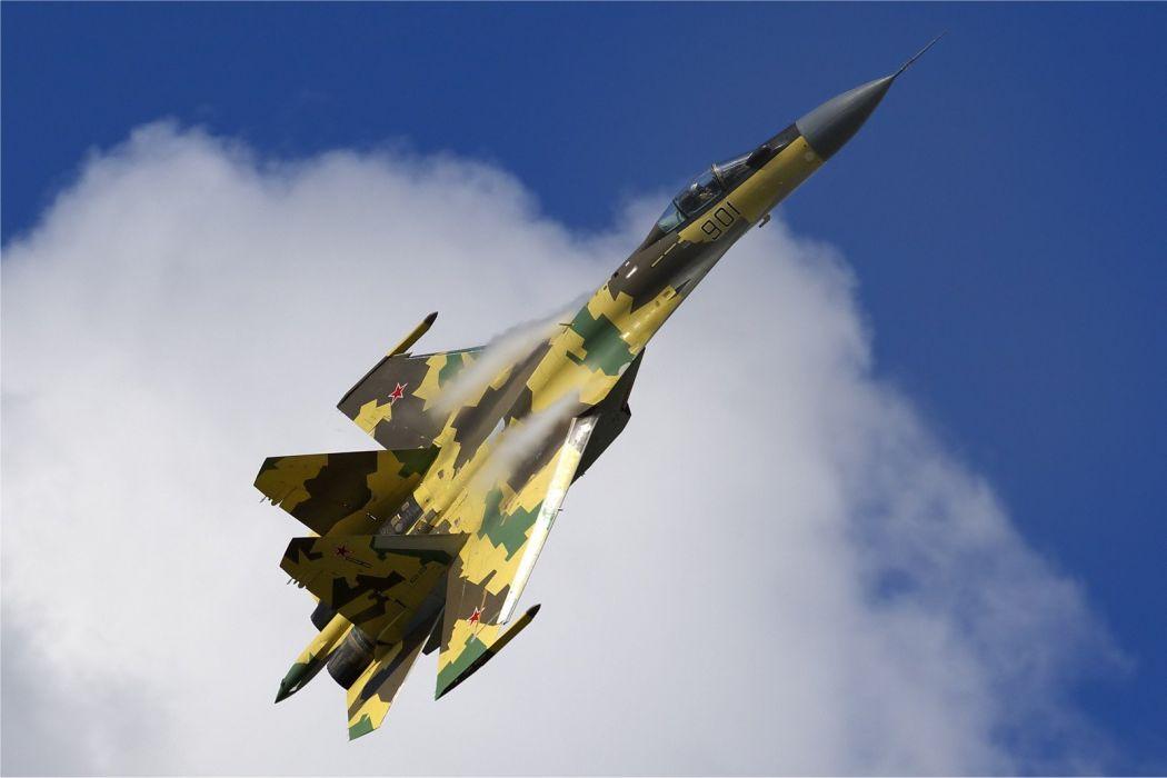 Sukhoi Su-35 jet fighter russia russian military su35 (44) wallpaper