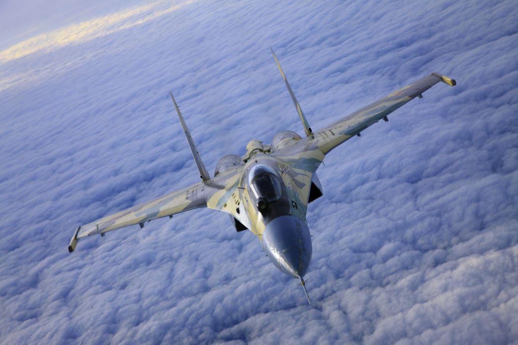 Sukhoi Su-35 jet fighter russia russian military su35 (45) wallpaper