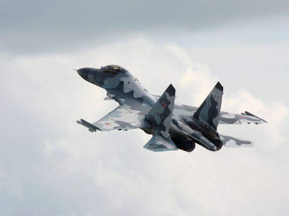 Sukhoi Su-35 jet fighter russia russian military su35 (47) wallpaper