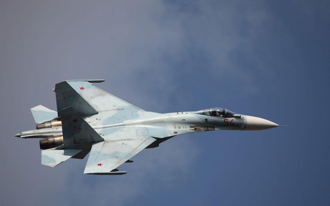 Sukhoi Su-35 jet fighter russia russian military su35 (49) wallpaper