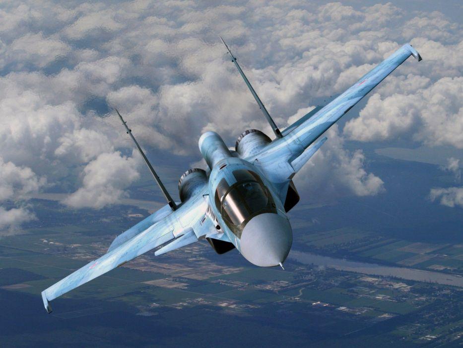 Sukhoi Su-35 jet fighter russia russian military su35 (50) wallpaper
