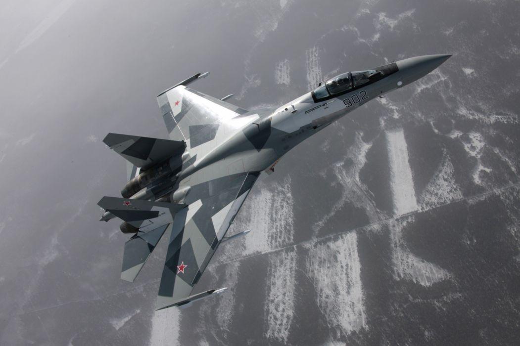 Sukhoi Su-35 jet fighter russia russian military su35 (52) wallpaper