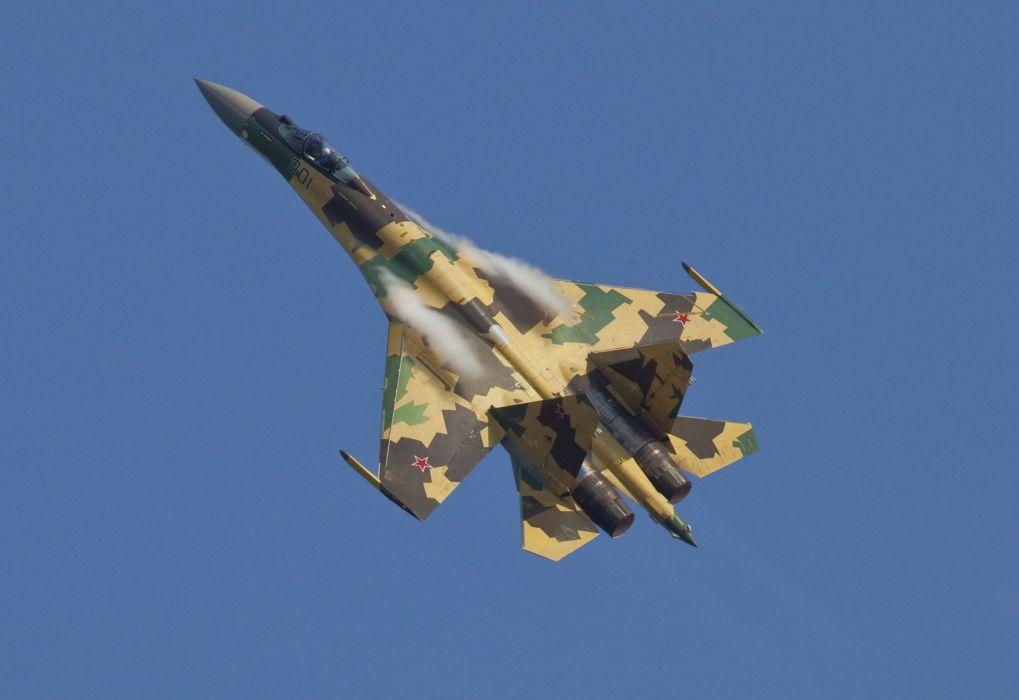 Sukhoi Su-35 jet fighter russia russian military su35 wallpaper