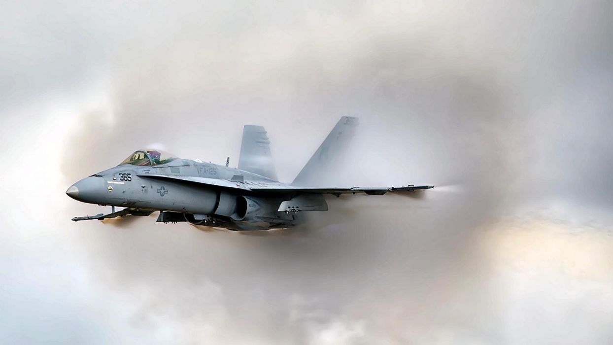 F-18 fighter jet military plane airplane usa (7) wallpaper