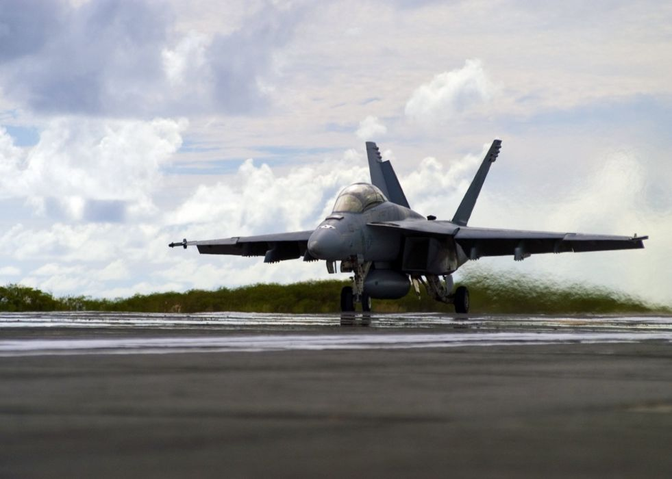 F-18 fighter jet military plane airplane usa (15) wallpaper