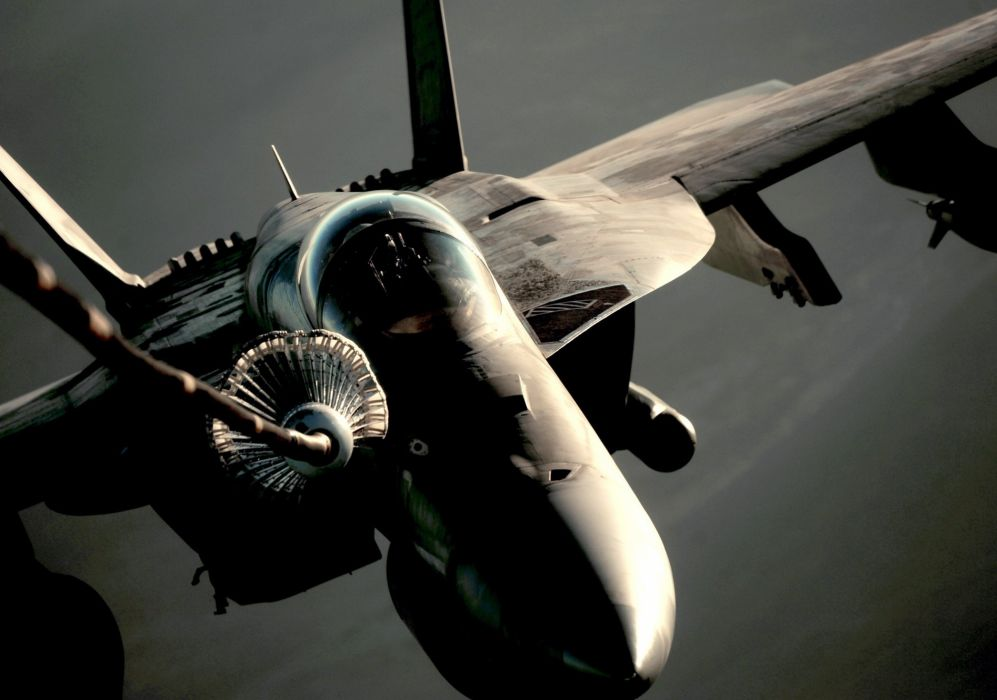 F-18 fighter jet military plane airplane usa (16) wallpaper