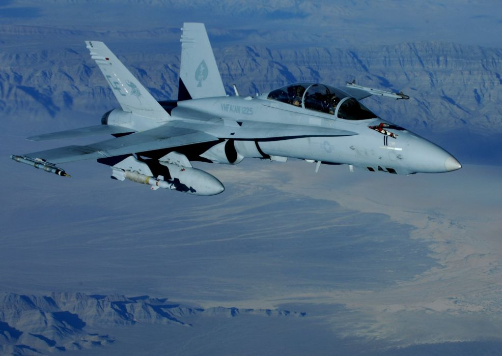 F-18 fighter jet military plane airplane usa (19) wallpaper