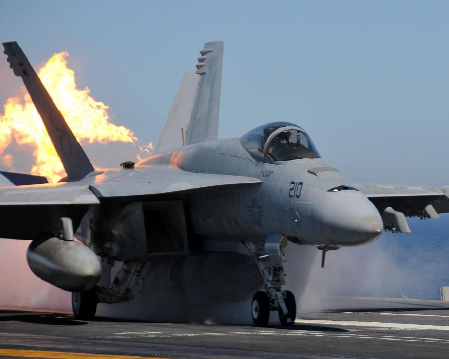F-18 fighter jet military plane airplane usa (26) wallpaper